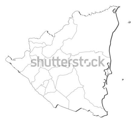 Map of Albania Stock photo © Schwabenblitz