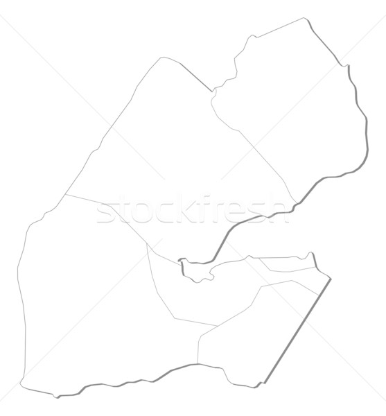 Map of Djibouti Stock photo © Schwabenblitz