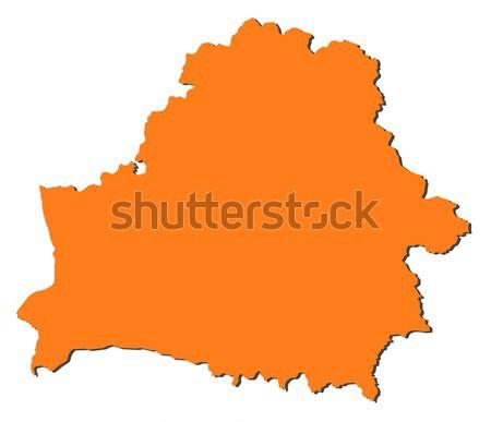 Map of Belarus Stock photo © Schwabenblitz