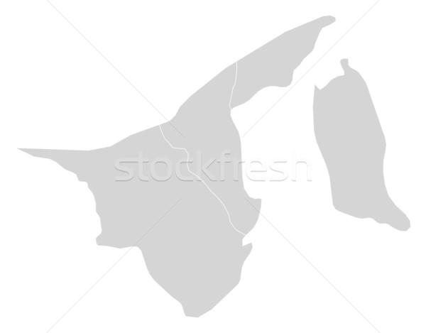 Map of Brunei Stock photo © Schwabenblitz