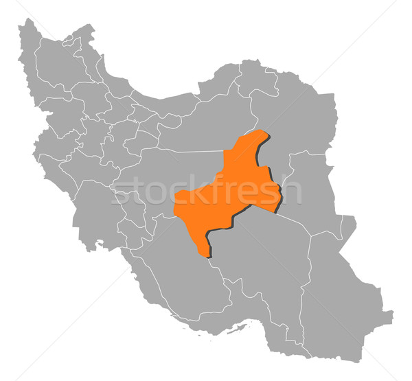 Kaart Iran politiek verscheidene abstract achtergrond Stockfoto © Schwabenblitz