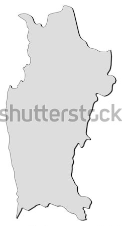 Map of Campania (Italy) Stock photo © Schwabenblitz