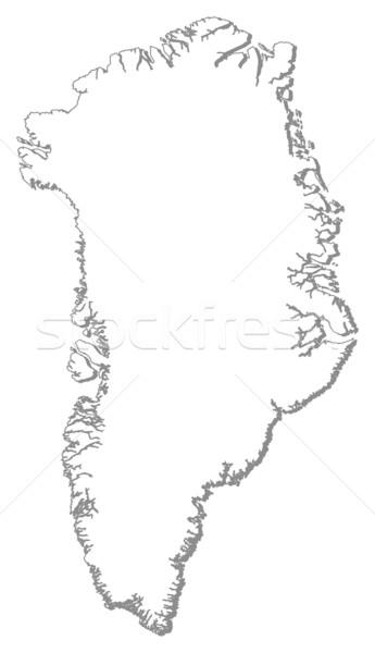 Mapa político vários abstrato mundo fundo Foto stock © Schwabenblitz