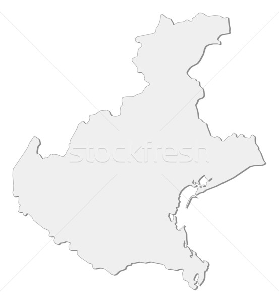 Map of Veneto (Italy) Stock photo © Schwabenblitz