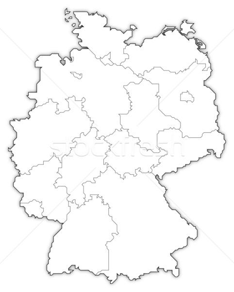 商业照片: 地图 · 德国 · 政治 · 抽象 · 世界