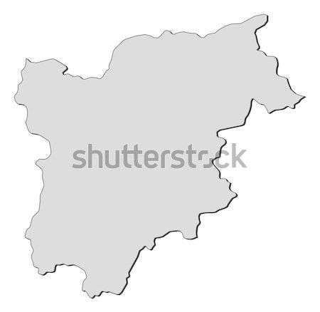 Map of Trentino-Alto Adige/S Stock photo © Schwabenblitz