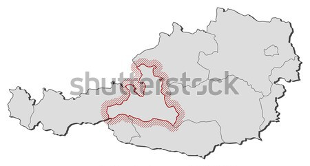 Map of Yunnan (China) Stock photo © Schwabenblitz
