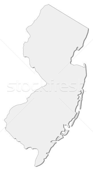 Map of New Jersey (United States) Stock photo © Schwabenblitz