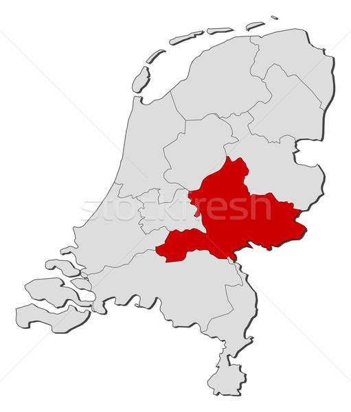 Pokaż Niderlandy polityczny kilka świecie streszczenie Zdjęcia stock © Schwabenblitz