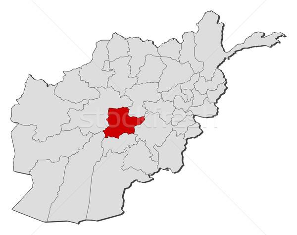 карта Афганистан политический несколько мира аннотация Сток-фото © Schwabenblitz