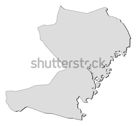 карта Швейцария аннотация фон связи черный Сток-фото © Schwabenblitz