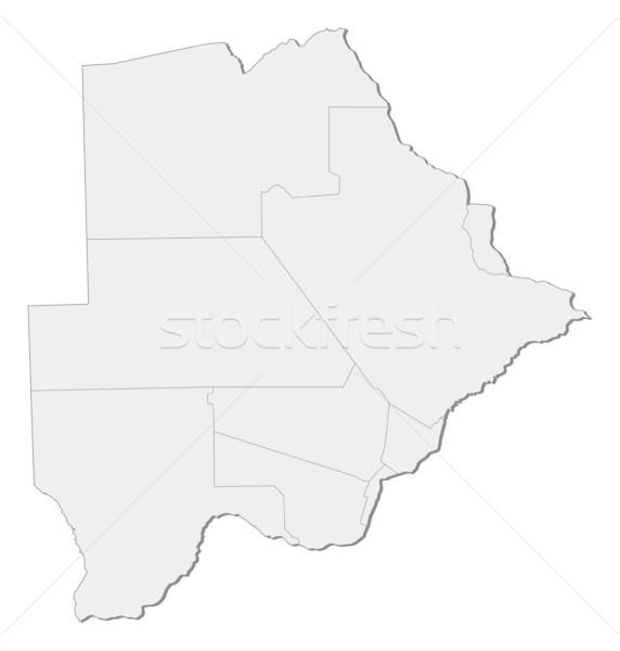 Stock photo: Map - Botswana