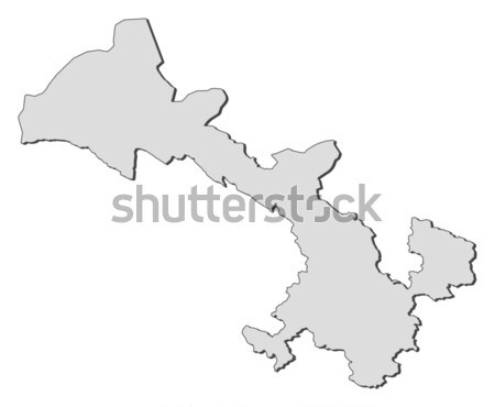 Map of Gansu (China) Stock photo © Schwabenblitz