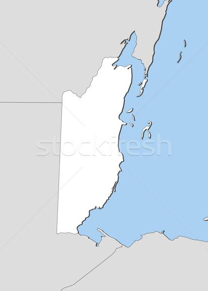Térkép Belize politikai néhány absztrakt világ Stock fotó © Schwabenblitz