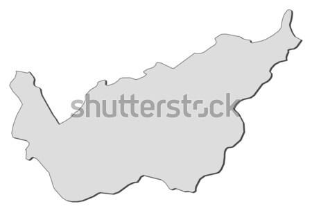 Map of Valais (Switzerland) Stock photo © Schwabenblitz