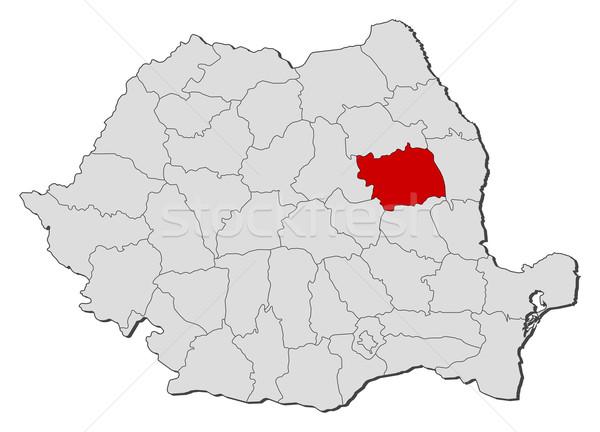 地図 ルーマニア 政治的 いくつかの 世界中 抽象的な ストックフォト © Schwabenblitz