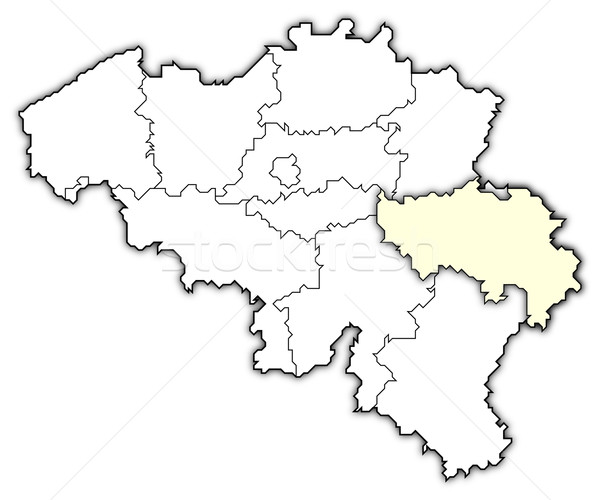 Map of Belgium, Li Stock photo © Schwabenblitz
