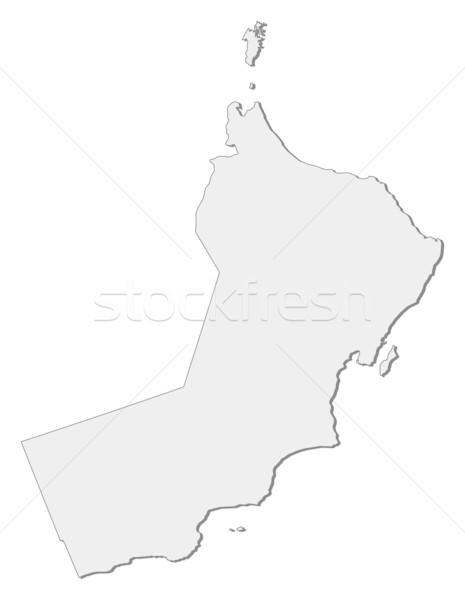 Harita Umman siyasi birkaç bölgeler soyut Stok fotoğraf © Schwabenblitz