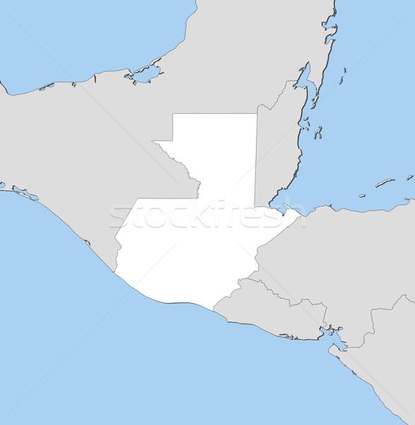 карта Гватемала политический несколько аннотация Мир Сток-фото © Schwabenblitz
