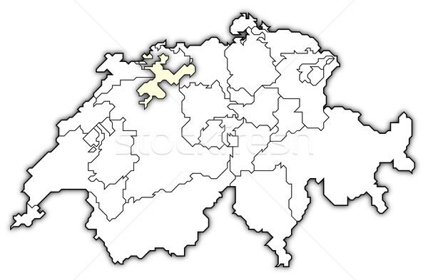 карта политический несколько аннотация фон связи Сток-фото © Schwabenblitz