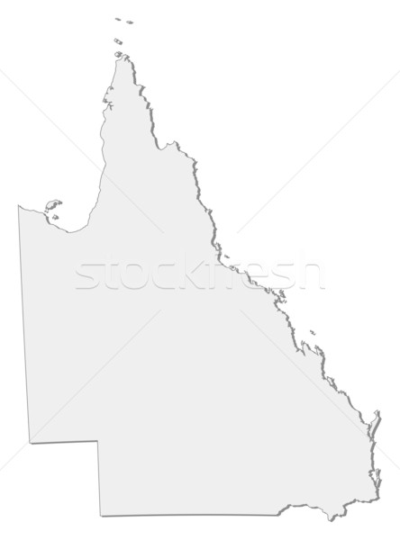 Carte queensland Australie résumé fond communication Photo stock © Schwabenblitz