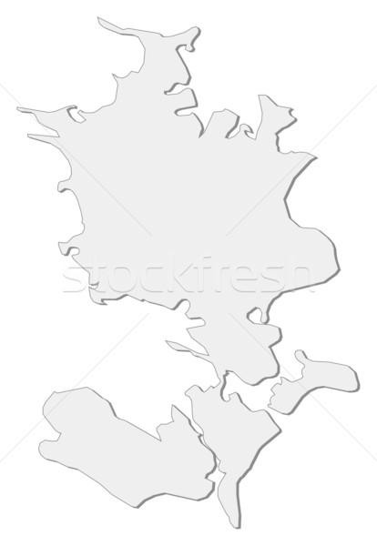 Kaart Denemarken regio abstract achtergrond communicatie Stockfoto © Schwabenblitz