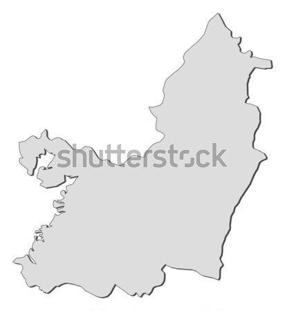 Map of Jiangsu (China) Stock photo © Schwabenblitz