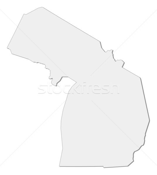 Harita Michigan Amerika Birleşik Devletleri soyut arka plan iletişim Stok fotoğraf © Schwabenblitz