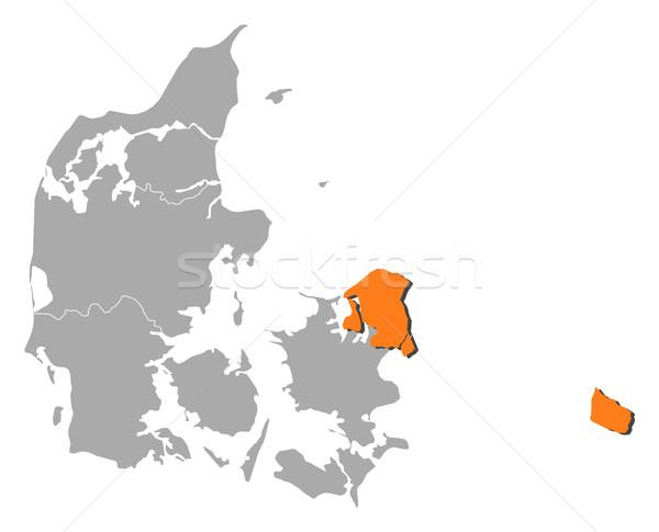 карта регион политический несколько аннотация Сток-фото © Schwabenblitz