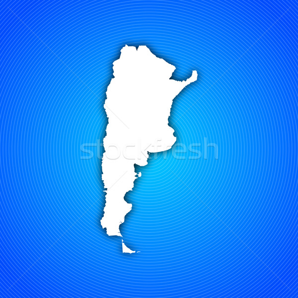 Map of Argentina Stock photo © Schwabenblitz