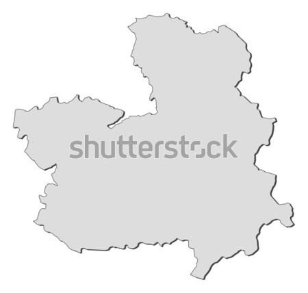 Map of Shaanxi (China) Stock photo © Schwabenblitz