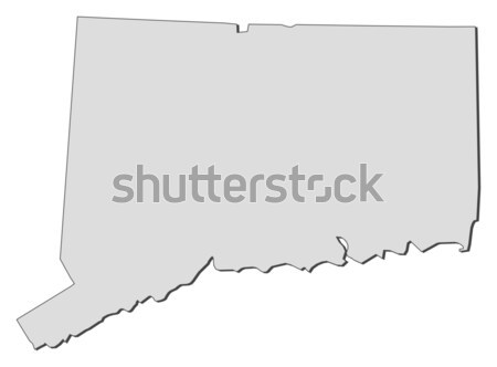 карта Теннесси Соединенные Штаты аннотация фон связи Сток-фото © Schwabenblitz