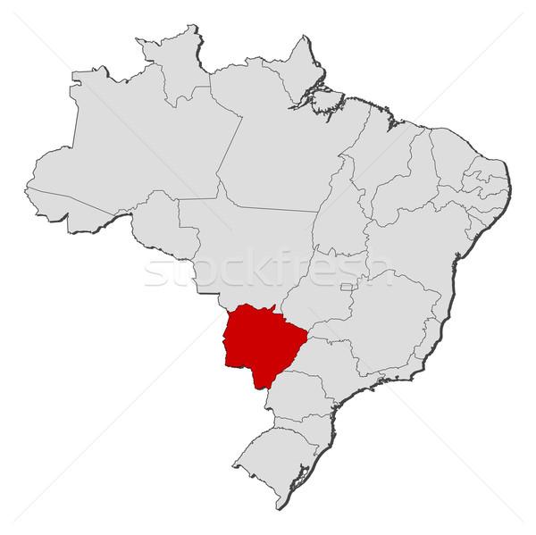 Pokaż Brazylia polityczny kilka świecie streszczenie Zdjęcia stock © Schwabenblitz
