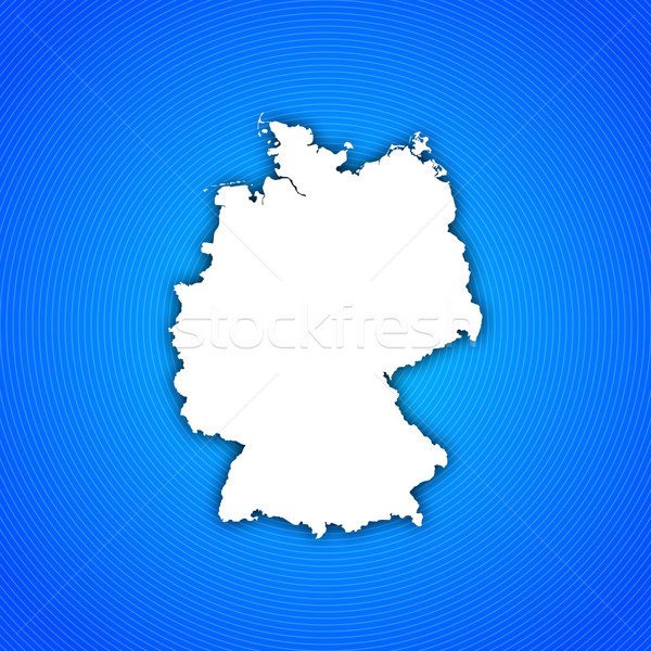 Foto stock: Mapa · Alemanha · político · vários · abstrato · mundo