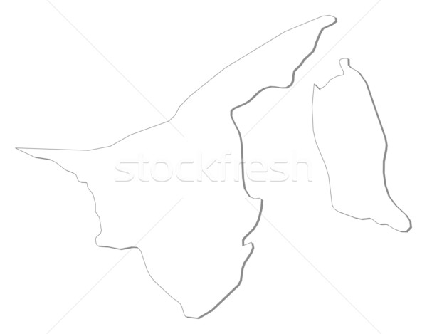 Map of Brunei Stock photo © Schwabenblitz