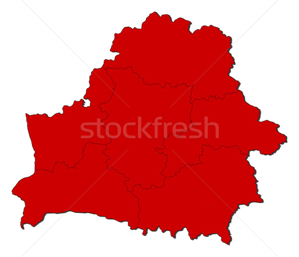Map of Belarus Stock photo © Schwabenblitz