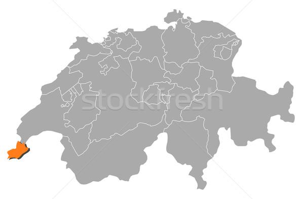 Harita siyasi birkaç soyut arka plan Stok fotoğraf © Schwabenblitz