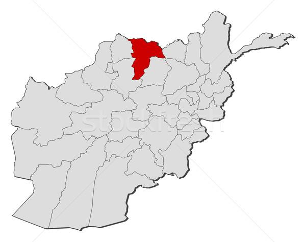 Harita Afganistan siyasi birkaç dünya soyut Stok fotoğraf © Schwabenblitz