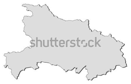 Map of Corsica (France) Stock photo © Schwabenblitz