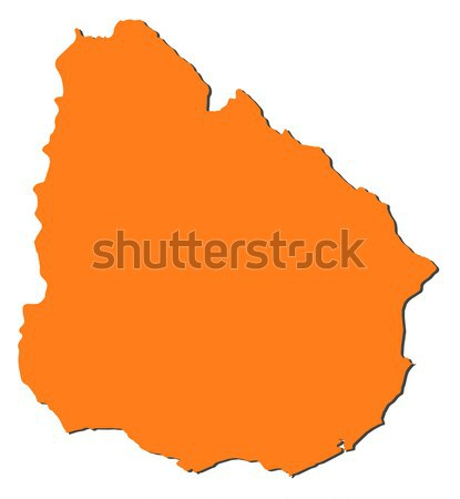 Map of Romania Stock photo © Schwabenblitz