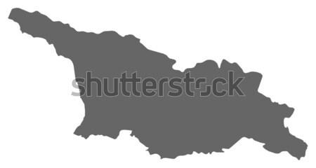 Harita İran siyasi birkaç soyut arka plan Stok fotoğraf © Schwabenblitz