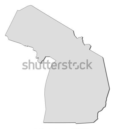 карта Висконсин Соединенные Штаты аннотация фон связи Сток-фото © Schwabenblitz
