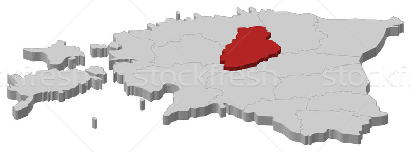 Map of Estonia, J Stock photo © Schwabenblitz