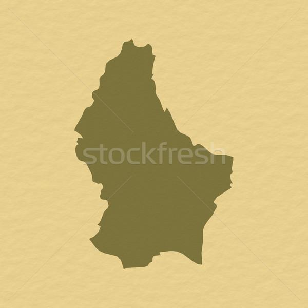 Harita Lüksemburg siyasi birkaç soyut dünya Stok fotoğraf © Schwabenblitz