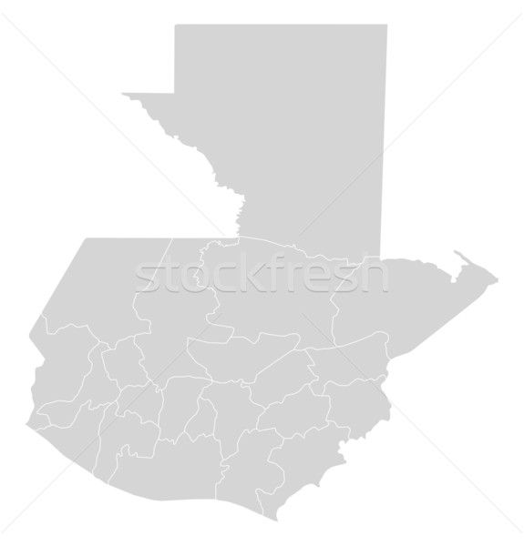Map of Guatemala Stock photo © Schwabenblitz