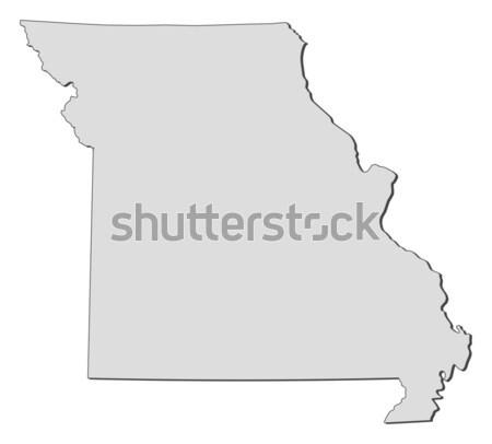 Carte Missouri États-Unis résumé fond communication Photo stock © Schwabenblitz