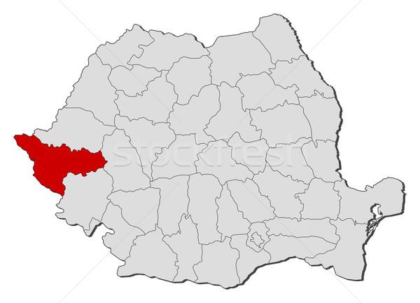 Harita Romanya siyasi birkaç dünya soyut Stok fotoğraf © Schwabenblitz