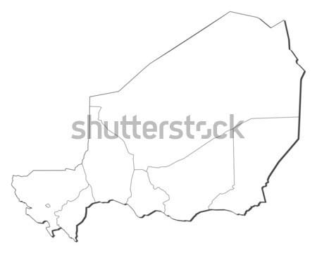 Harita Ermenistan siyasi birkaç soyut dünya Stok fotoğraf © Schwabenblitz