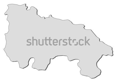 Kaart Jamaica politiek verscheidene abstract wereld Stockfoto © Schwabenblitz