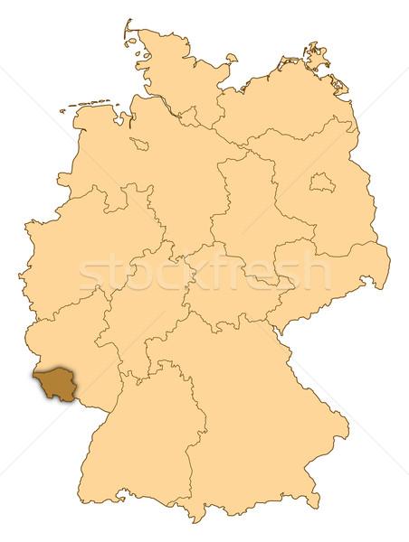 Harita Almanya soyut arka plan iletişim siyah Stok fotoğraf © Schwabenblitz